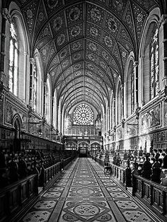 College Chapel - Maynooth University, Ireland Print by Barry O Carroll