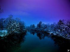 River Ljubljanica, Slovenia (Europe)