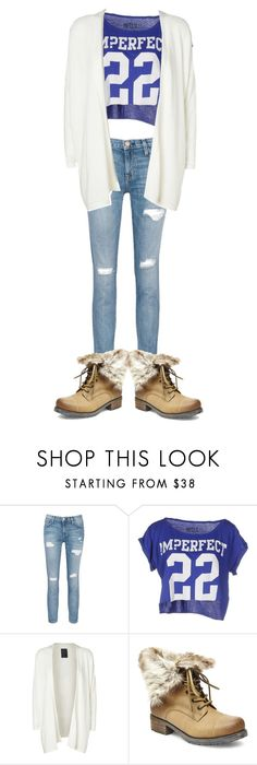 """""""OOTD"""" by kennycat ❤ liked on Polyvore featuring Current/Elliott, !M?ERFECT, Minimum and Steve Madden"""