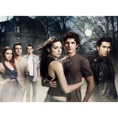 Tyler Posey ❤ liked on Polyvore featuring teen wolf and tw cast