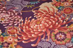 Japanese Kimono design fabric half yard by HanamiBoutique on Etsy, $7.00
