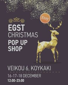 We are happy to invite you to our Pop up shop this weekend. Plenty of great shops and items and always fun! See you there! . . . #egst #etsypopupshop #instaathens #lifoathens #etsyshopping #athensvoice #athensvibe #christmasmarket #instagreece
