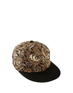 River Island 5 Panel Cap with details including a 5 panel design with a domed crown and a contrasting flat peak. 5 Panel cap refers to a cap with 5 parts woven together. FD1A1 Candy Lee