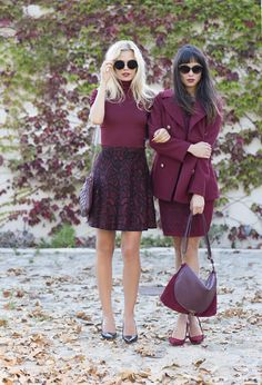 Fierce as Crimson Crimson, oxblood, maroon, dark cherry. Whatever you call it, Fall's vampy sister to classic red is having a major mo...