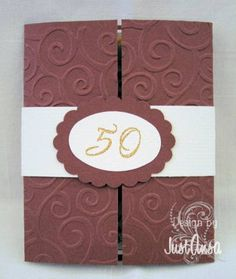 A 50th Anniversary Invitation - front