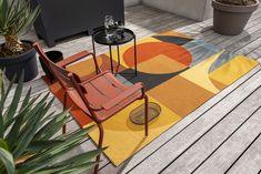 Indoor Outdoor Rugs, Outdoor Chairs, Outdoor Furniture, Outdoor Decor, Geometric Lines, Matisse, Area Rugs, Patio, Modern