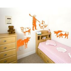Style and Apply Farm Set Wall Decal (20in x 20in )