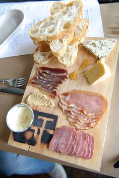 Charcuterie at Holeman & Finch