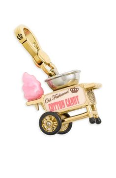 Juicy Couture Cotton Candy Machine Charm