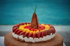 Salad Cake with cheese and tomatoe Salad Cake, Brunch, Cheese, Dinner, Breakfast, Desserts, Food, Dining, Morning Coffee