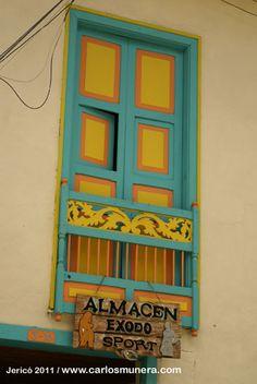 jerico_puertas_ventanas_3 F1, Coffee Shop, Decoupage, Chairs, Neon Signs, Windows, Boho, Frame, Home Decor