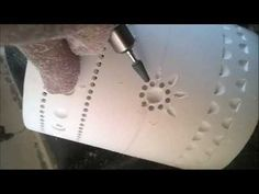 Como hacer una lampara de PVC 2da parte. - YouTube Dremel Tool Projects, Pvc Pipe Projects, Clay Art Projects, Laser Cut Lamps, Lampe Tube, Pvc Furniture, Diy Cnc Router, Pvc Pipe Crafts, Diy Lampe