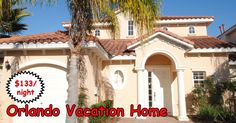 Large 4 bedroom Orlando vacation home with private pool. Fully furnished and ready to be your Orlando theme park basecamp.