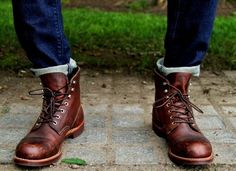 Red wing iron rangers would be great for a fashion man. #menrangers #menshoes
