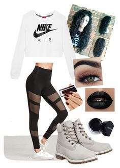 """""""Yass"""" by sacredgemini on Polyvore featuring NIKE and Timberland"""