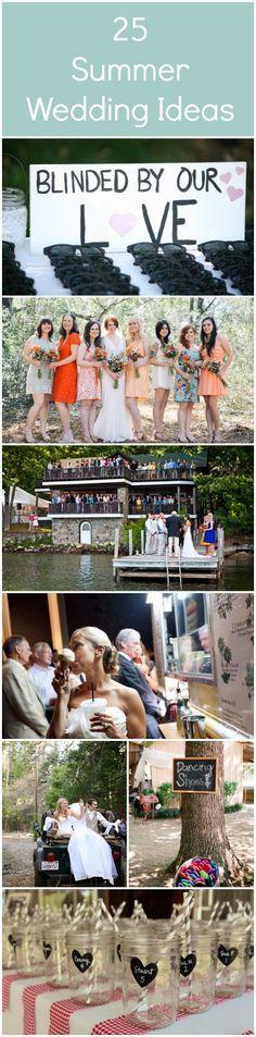 25 Summer Wedding Ideas