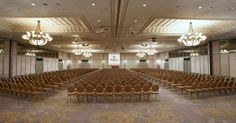 Choose a variety of versatile function spaces,for up to 4,500 delegates.  #meetings #events #ledra ballroom #pillar free #hilton #cyprus