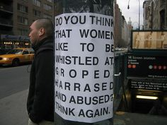 What Catcalling in NYC Is Really Hiding