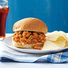 Simple recipes for comfort food in 30 minutes or less cooking turkey sloppy joes for a crowd forumfinder Gallery