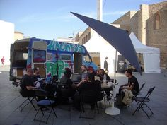 Hackbus at Mozilla Drumbeat Festival in Barcelona, Spain. via @OWNI