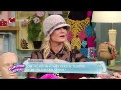Hat Making Derya Baykalla – Selmin Özden – Join in the world of pin Moda Emo, Cloche Hat, Crochet Videos, Knitting Accessories, Neck Warmer, Hats For Women, Handicraft, Mittens, Knitted Hats
