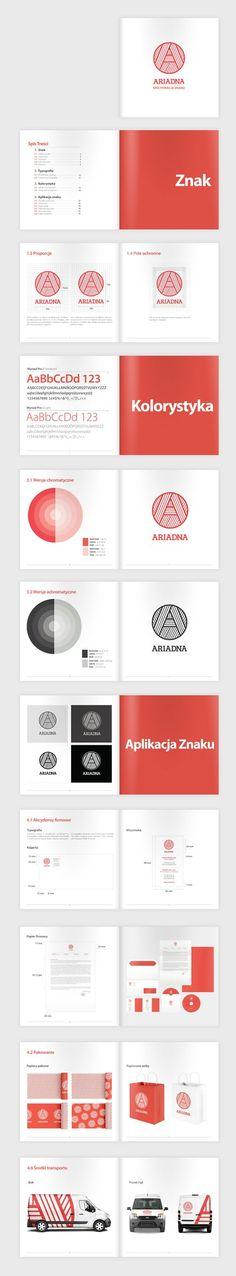 Ariadna identity design: