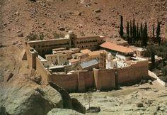 St. Catharinaklooster, Sinai, Egypte, 6e eeuw.