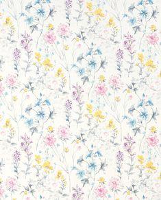 Wild Meadow Multi Wallpaper girly wallpaper, floral wallpaper, spring wallpaper, background, floral background, feminine background