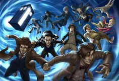 Doctor Who ever by *Quirkilicious on deviantART