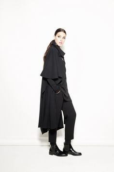 3 Colombian Designers Are Big in Bogota - A look from Toro's fall 2013 collection.