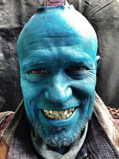#gotgpicoftheday Why is @Michael_Rooker so happy? Because I wrote a role just for him. #Yondu #GuardiansoftheGalaxy pic.twitter.com/RyqPNlNQkT