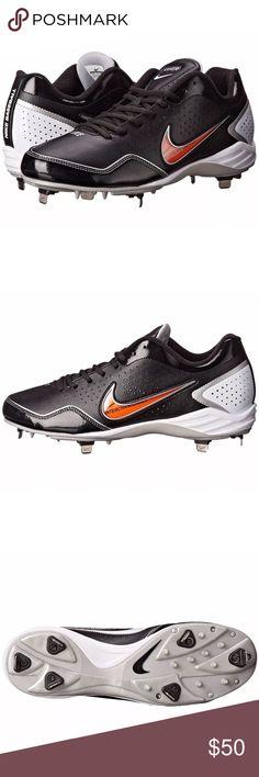 nike uomini lunar trota 2 metà metal scarpe da baseball dick sportiva