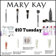 My Tuesday deals! Get these great products at a steal of a deal! To order contact me at jflis@marykay.com.