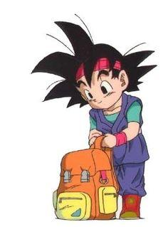 Goku JR ready to go on an adventure xD