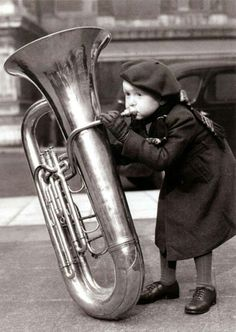 A little musician....  Anonymous