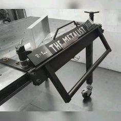 Metal Bending Tools, Metal Working Tools, Sheet Metal Tools, Diy Welding, Welding Tools, Welding Cart, Metal Projects, Welding Projects, Sheet Metal Bender