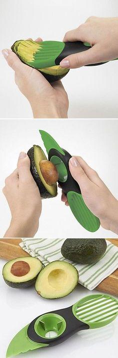 Avocado Tool that makes preparing avocados easy!