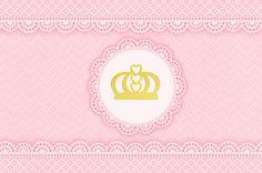 Kit digital gratuito para imprimir Princess - Coroa de Princesa Rosa! | Montando…