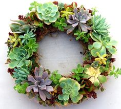 DIY wreath .. i love it