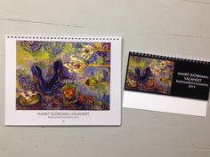 Vuoden 2015 kalenteri! My Arts, Artist, Amen, Artists