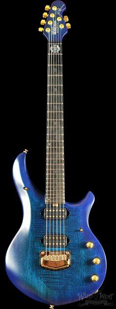 Ernie Ball Music Man John Petrucci Artisan Majesty Azzurro Blue