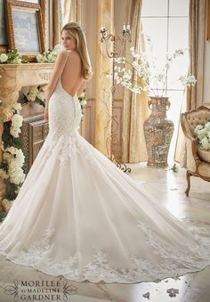 LOW back- fabulous silhouette! - In-store: Ivory/Champagne, size 10  -  Also available: White or Ivory