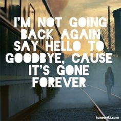 Lyric Art of Say Hello To Goodbye by Shontelle