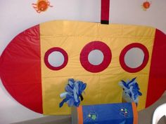 could turn dramatic play into a sub to dive down and discover the ocean animals