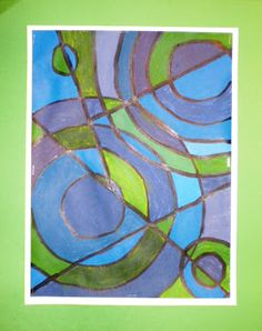 Spot of Color: Grade Color Theory Abstract Paintings Creative Arts Therapy, Art Therapy, 6th Grade Art, Middle School Art, Arts Ed, Art Classroom, Art Club, Elementary Art, Teaching Art