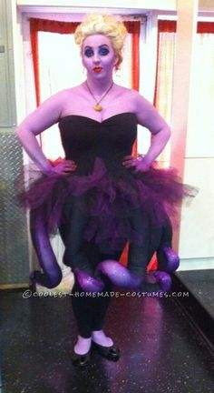 Image result for ursula costume diy craft create pinterest awesome homemade ursula costume ursula costume diyursala solutioingenieria Gallery