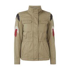#Vero #Moda #Damen #Jacke #im #Military-Look mit #Stickereien - Damen Jacke von…