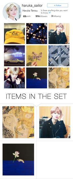 """""""Sailor Uranus Instagram"""" by pearliemoon ❤ liked on Polyvore featuring art"""