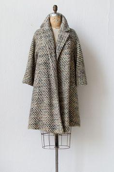 vintage 1950s swing coat | Audincort Swing Coat