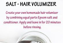 Use Salt to Purify & Add Volume to Your Hair